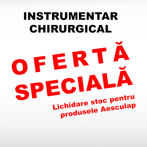 Instrumentar chirurgical Aesculap